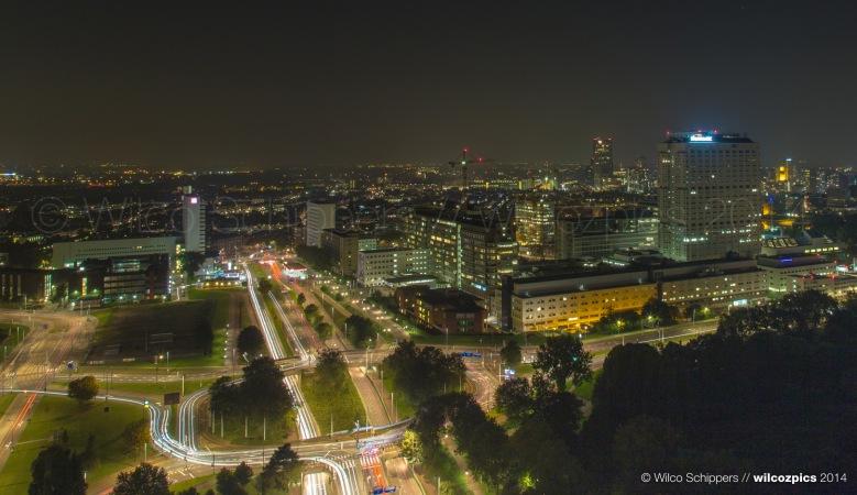 avond-erasmusmc-skyline-rotterdam